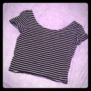 American Eagle fitted crop top